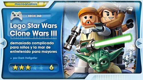 Analisis De Lego Star Wars Iii Las Guerras Clon Para Xbox 360