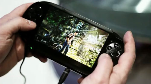 NGP o PSP Vita moviendo Uncharted