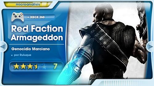 Análisis de Red faction Armageddon