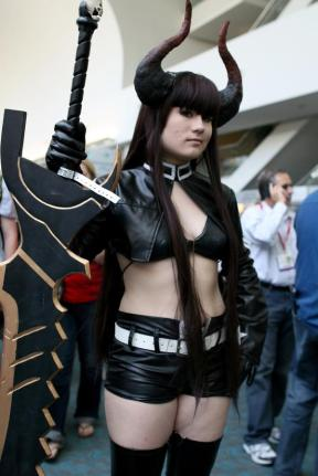 Black Shooter Star