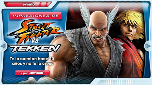 Impresiones Street Fighter x Tekken