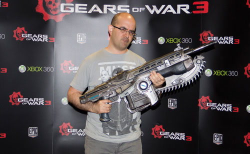 GOW3: Jugando con armas