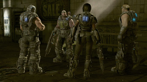 Gears of War 3: Modo Campaña