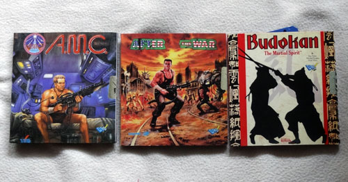 After the War, AMC y Budokan para Amiga