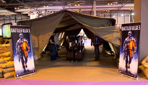 Stand de Battlefield 3 en GameFest 2011