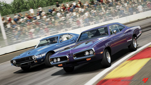American Muscle DLC para Forza Motorsport 4