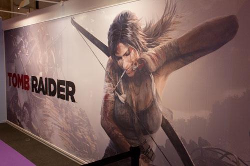 Stand de Tomb Raider en GameFest 2011