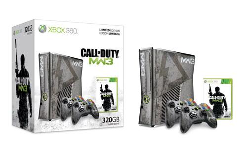 Xbox 360 Pack Edición limitada Modern Warfare 3