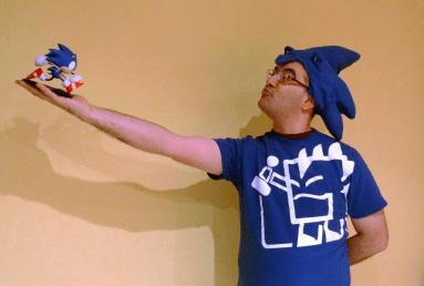 Gorro Sonic Aniversario