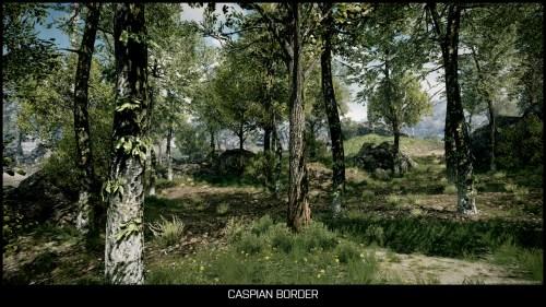 Caspian Border
