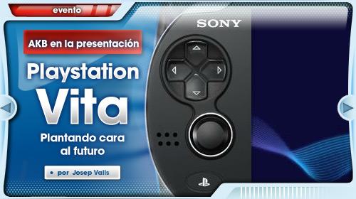 Presentación PlayStation Vita