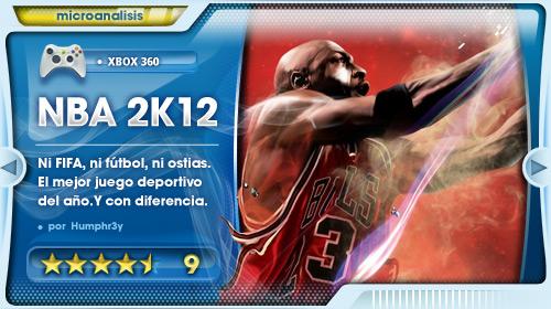 Análisis NBA 2K12