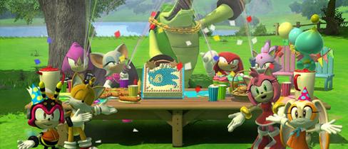Cumpleaños de Sonic