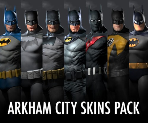 [AKB] Batman Skin Pack