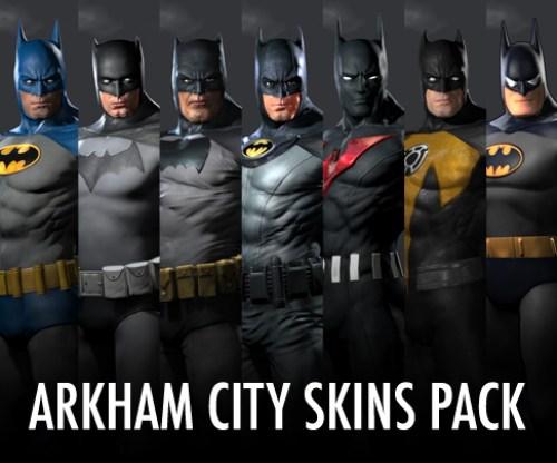 [AKB] Batman Skin Pack