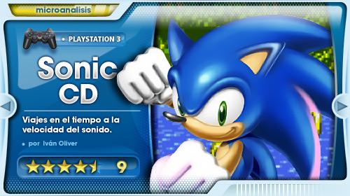 Análisis Sonic CD