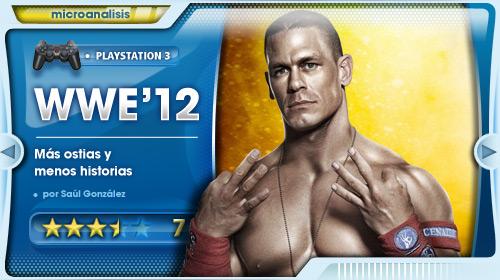 Análisis WWE 12