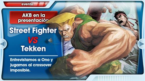 Presentación Street Fighter x Tekken