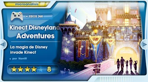 Análisis DisneyLand Adventures Kinect