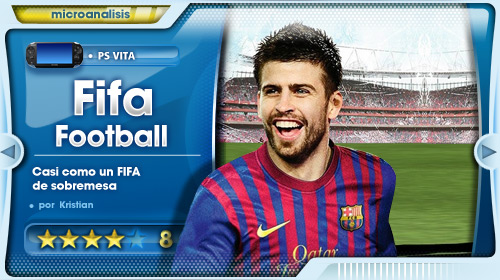 Análisis de FIFA Football para PS Vita