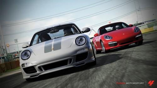 Porsche en Forza Motorsport 4