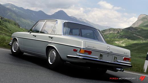 Mercedes 300 SEL 1972 Forza Motorspor 4