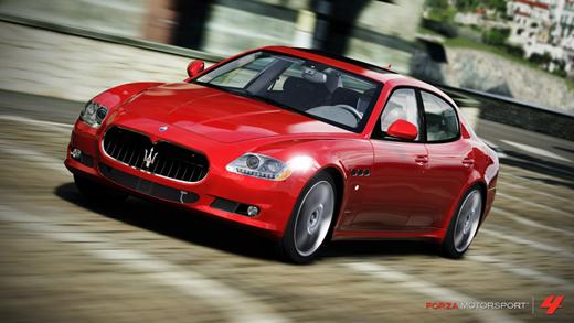 Maserati Quattroporte 2012 Forza Motorsport 4
