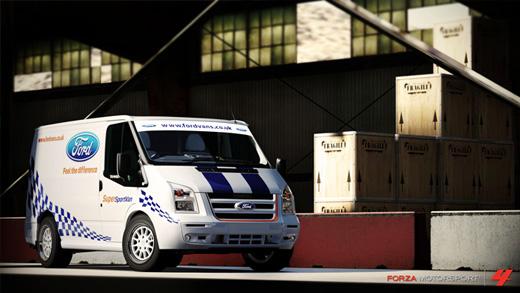 2011 Ford Transit SSV Forza 4