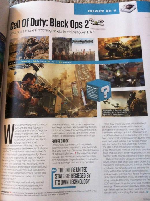 [AKB] CoD: Black Ops 2 Wii U