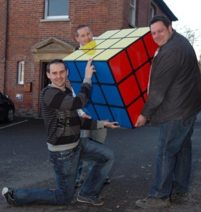 Cubo de Rubik gigante