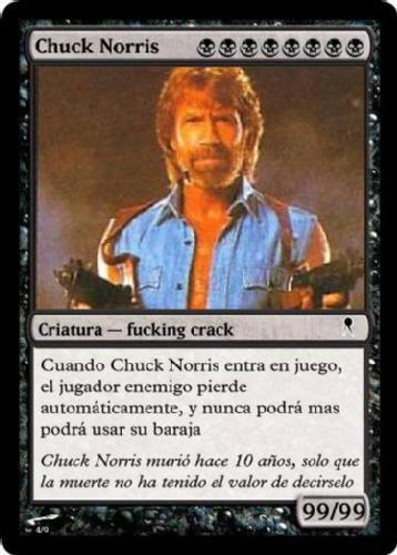 Carta de Chuck Norris