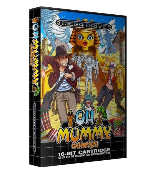 Oh Mummy para Megadrive
