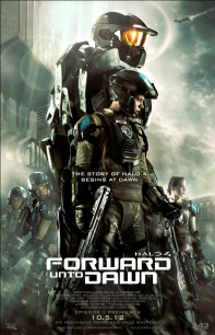 Póster de Halo 4: Forward unto Dawn