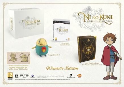 Wizard's Edition de Ni No Kuni: Wrath of the White Wich
