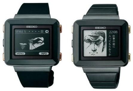Reloj de Seiko inspirado en Golgo 13