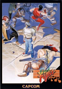 Póster del legendario arcade Final Fight
