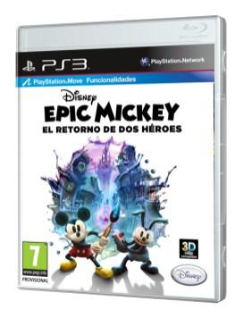 EM el Retorno de Dos Heroes_PS3_Caratula 3D