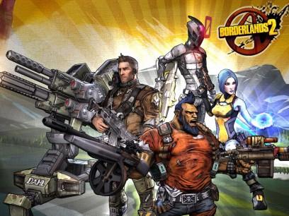 Los protas de Borderlands 2 son como los el Equipo A... pero disparan a matar