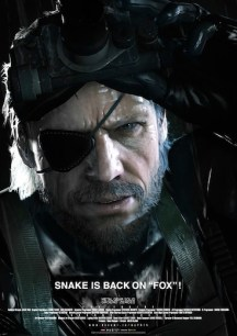 Póster de Metal Gear Ground Zeroes