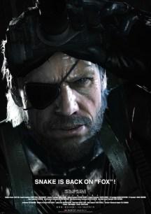 Póster de Metal Gear Ground Zeroes