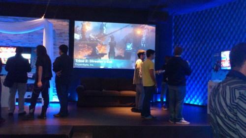Prensa jugando a Wii U