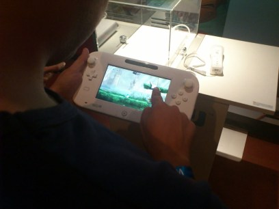 Jugando a Wii U