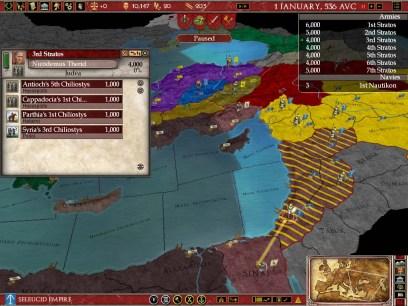 Conquistando el mundo en Rome Gold