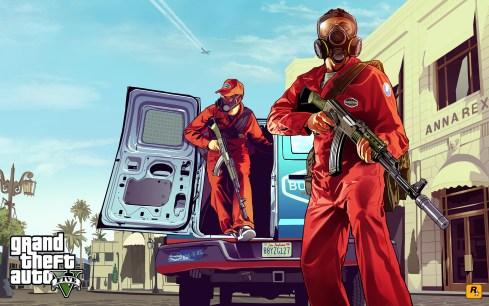 Primer artwork de GTA V