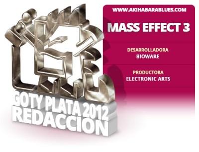 Mass Effect 3, Segundo Mejor Juego del 2012 para la Redacción de AKB