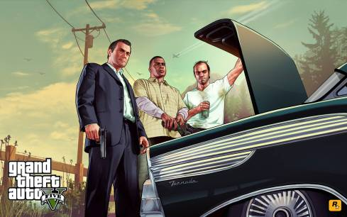 Los chicos malos de GTA V