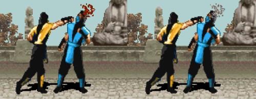 Adivina qué imagen corresponde a la versión de Super Nintendo de Mortal Kombat