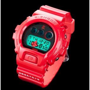 G-Shock de Kaneda, tan llamativo como molón.