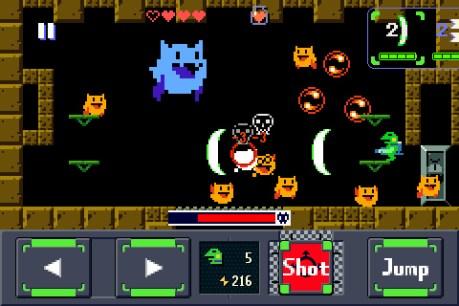 Gero Blaster tiene una pinta muy de Cave Story. SOLD.