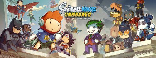 Banner de Scribblenauts Unmasked